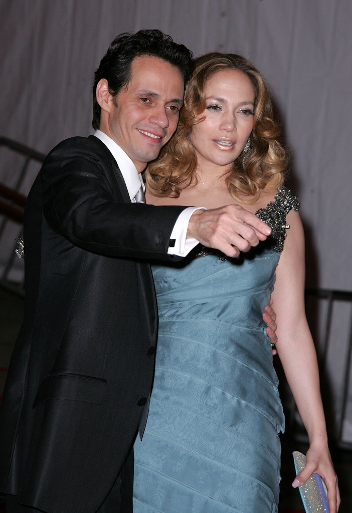 Marc Anthony and Jennifer Lopez in 2008