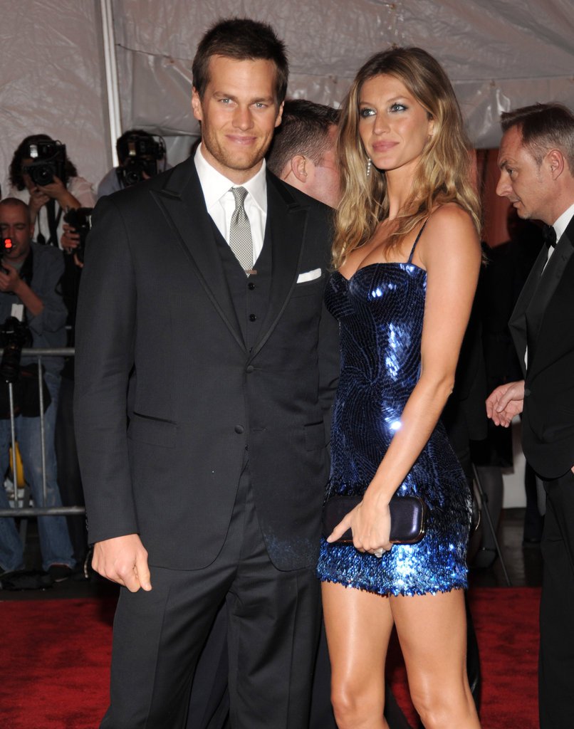 Tom Brady and Gisele Bundchen in 2009
