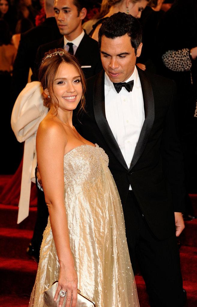 Jessica Alba and Cash Warren in 2011