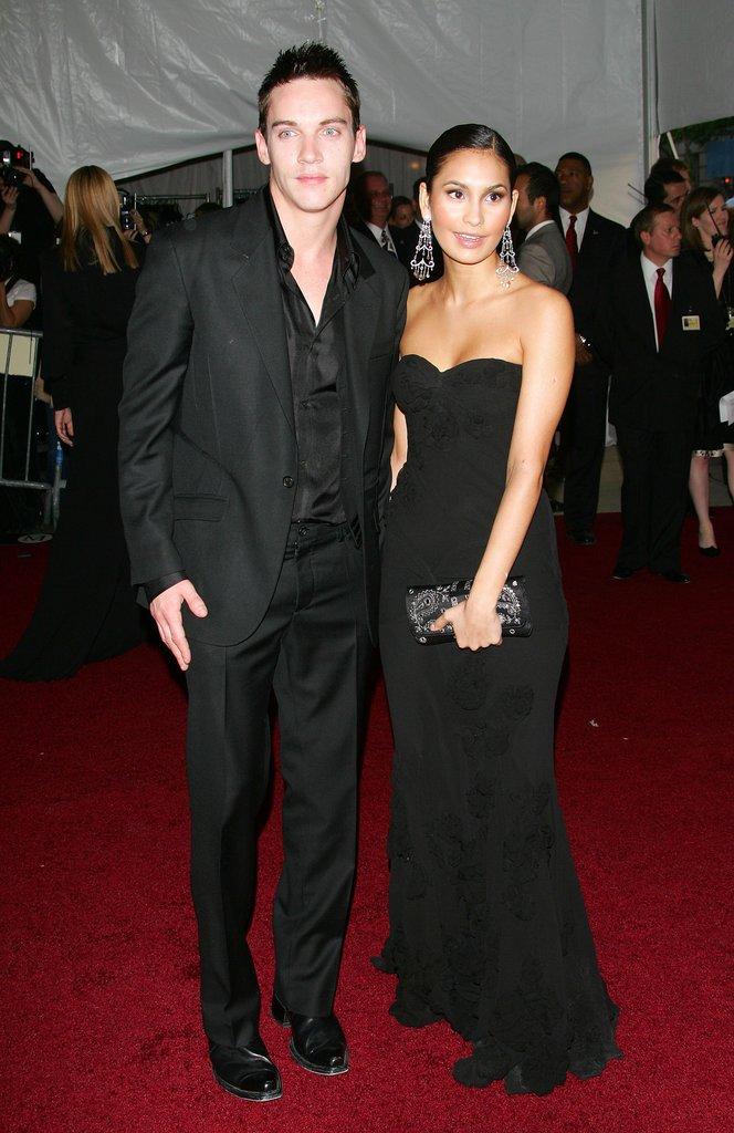 Jonathan Rhys Meyers and Reena Hammer in 2006