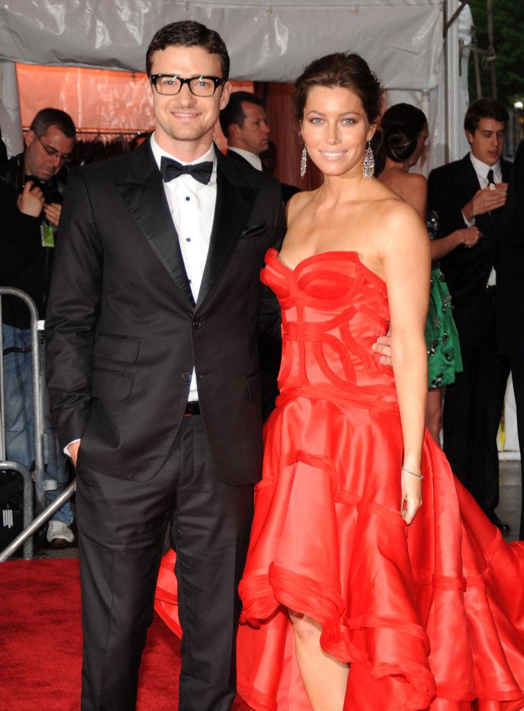 Justin Timberlake and Jessica Biel in 2009