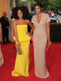 Solange Knowles and Rachel Roy