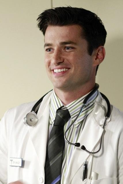 Wes Brown as a doctor on Desperate Housewives. Photo courtesy of ABC