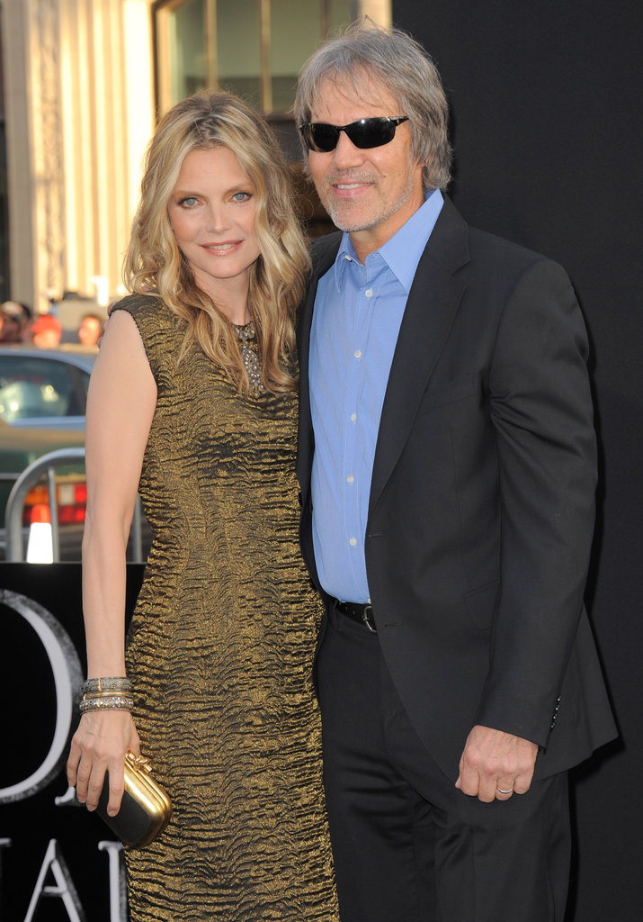 Michelle Pfeiffer and David E. Kelley got close at the Dark Shadows premiere in LA.