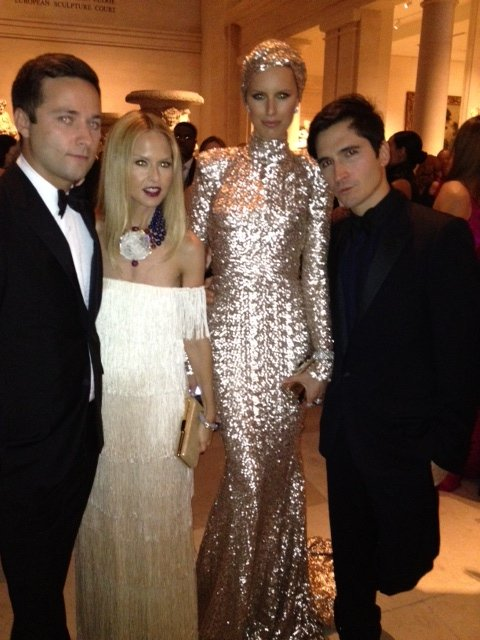 Rachel Zoe was the life of the party and snapped pics with all her famous friends. Source: Twitter User RachelZoe