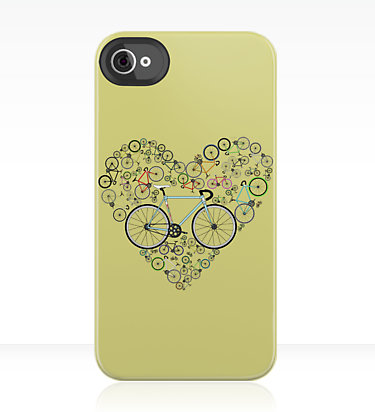 I Love My Bike iPhone Case ($38)