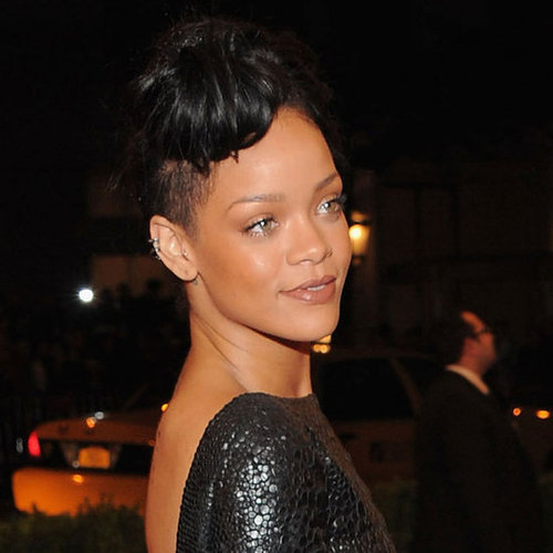 Rihanna's Beauty Look at the 2012 Met Costume Institute Gala