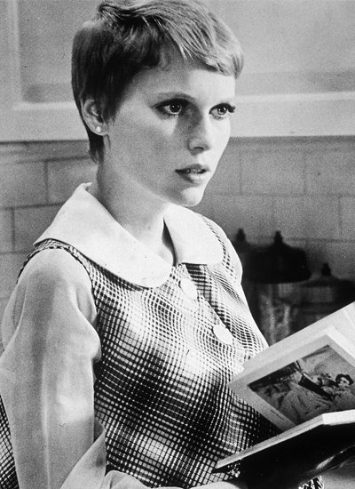 On Mia Farrow