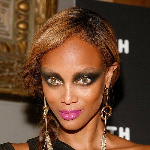 Tyra Banks's Smoky Eye Makeup