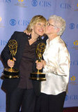 Ellen DeGeneres and her mum, Betty, attended the 32nd Annual Daytime Emmy Awards in May 2005 at Radio City Music Hall in NYC.