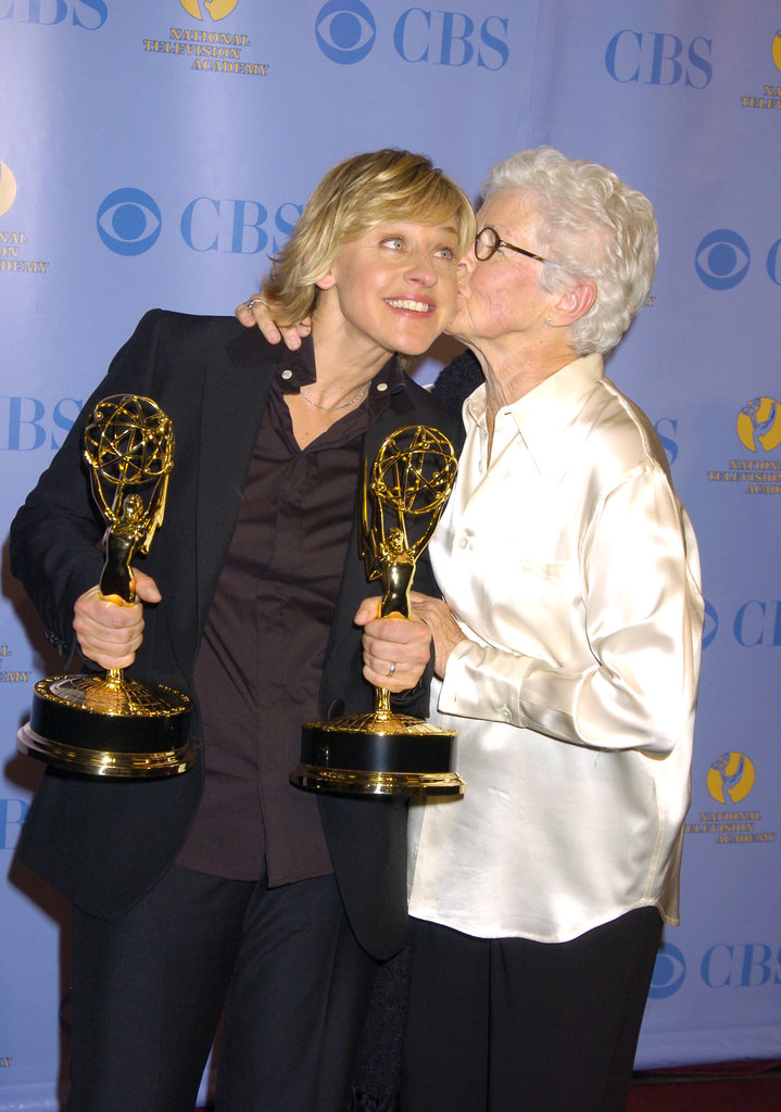Ellen DeGeneres and her mom, Betty, attended the 32nd Annual Daytime Emmy Awards in May 2005 at Radio City Music Hall in NYC.