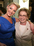Katherine Heigl was all smiles side-by-side with her mother, Nancy, at the October 2008 Peter Alexander's flagship boutique opening in LA.