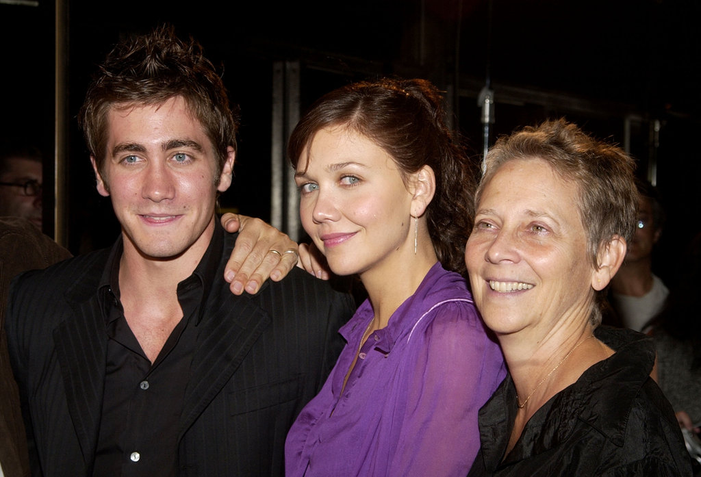 Jake and Maggie Gyllenhaal brought their mum, Naomi, to the September 2002 Moonlight Mile premiere in LA.