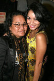 Vanessa Hudgens and mom Gina arrived in NYC to see Spring Awakening on Broadway in August 2007.
