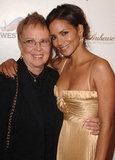 Halle Berry and her mom, Judith, snapped a photo together at Ebony's Pre-Oscar Celebration in February 2007.