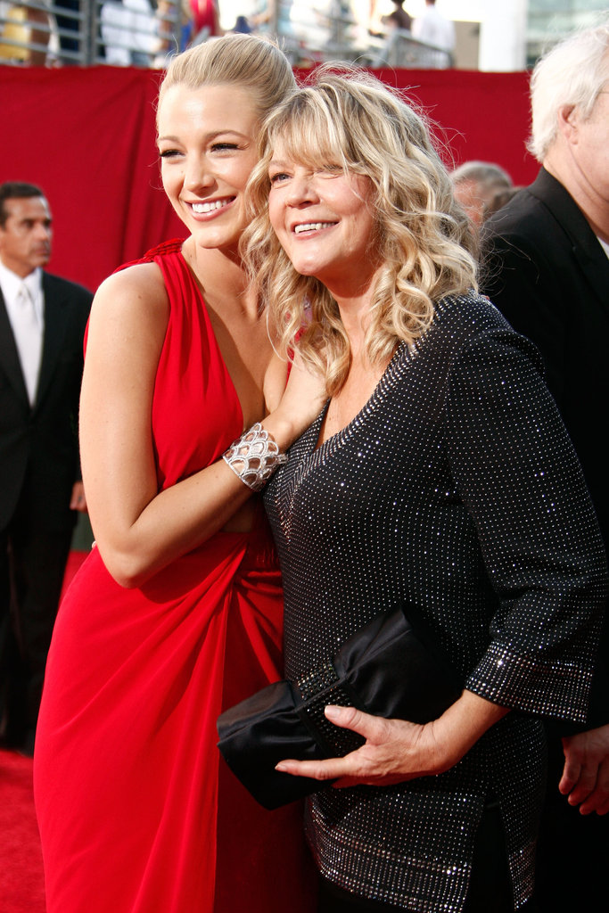 Blake Lively brought her mum, Elaine, as her date to the 61st Annual Primetime Emmy Awards in September 2009.