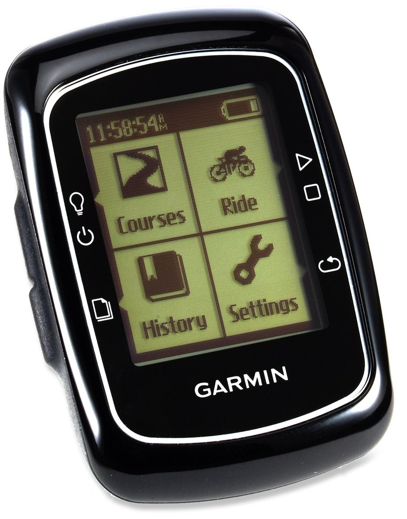 While the interface is no Apple display, the Garmin Edge 200 Wireless Bike Computer ($150) has a pretty price tag and offers all the basic features you need on the road. It's waterproof; includes a GPS tracking system; records your speed, average speed, and trip distance; and logs exercises, making it ideal for training.