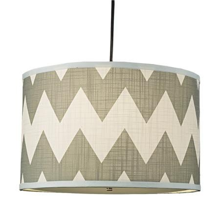 Shades of Light Drum Shade Pendant ($149)