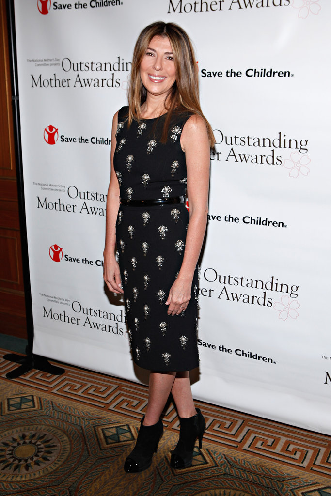 Nina Garcia went to the Outstanding Mother Awards in NYC.