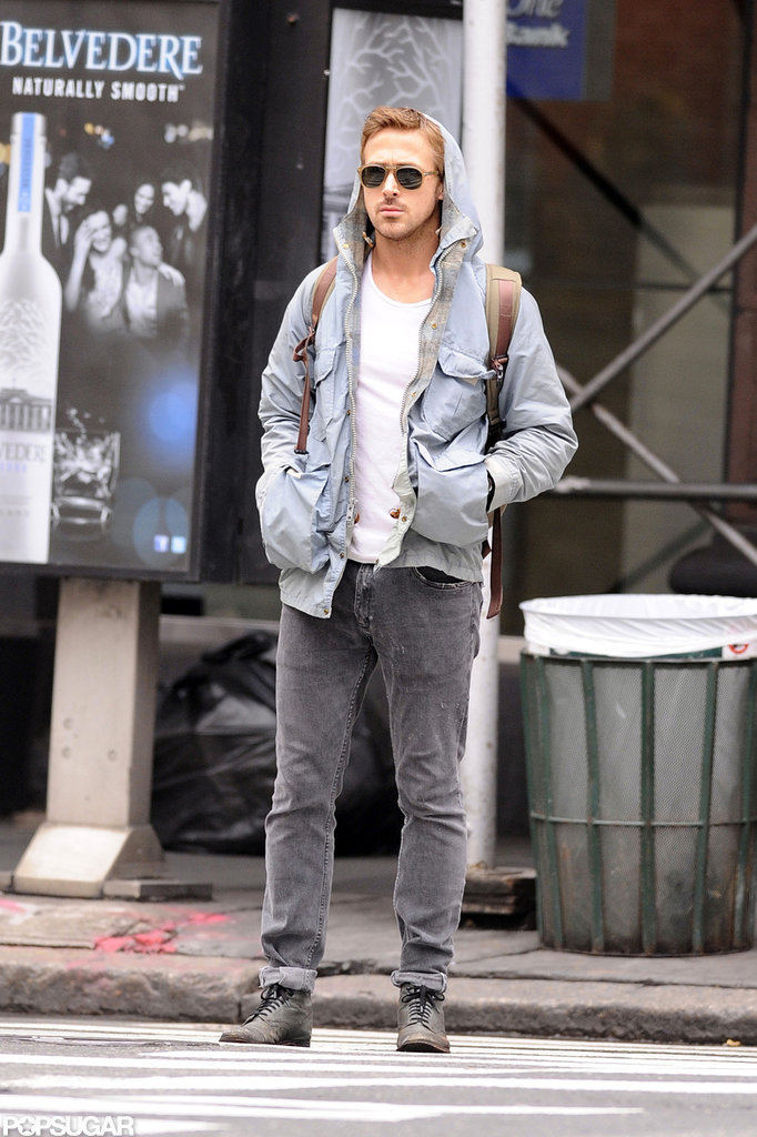 Ryan Gosling hung out in NYC's SoHo neighborhood in May.