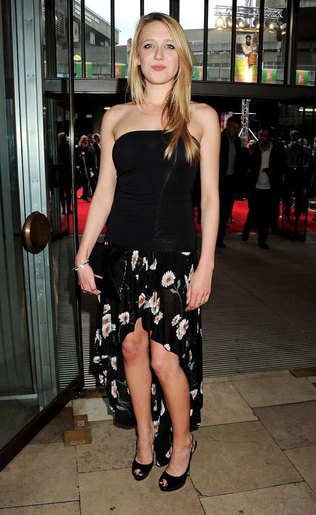 Emily Head arrived at the premiere of The Dictator.
