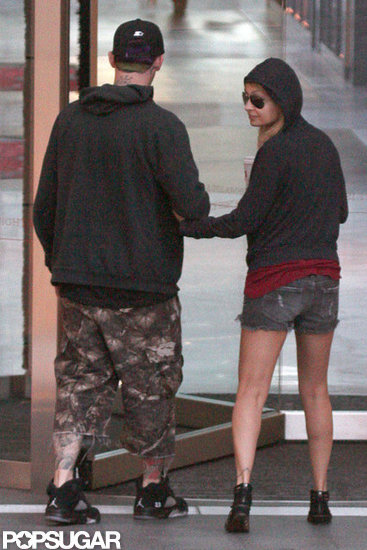Nicole Richie and Joel Madden had an afternoon out in Sydney.