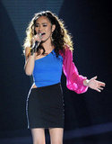 Jessica Sanchez put on a powerful performance.