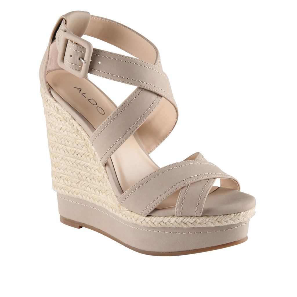 This pair of wedges is an easy way to inject a seasonal vibe into nearly any of your office looks.  Aldo Deavila ($50)