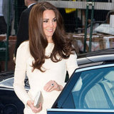 Kate Middleton Shows Some Leg in Thigh Split Roland Mouret Gown: See Her Sexy Look from All Angles!