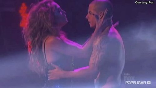 Jennifer Lopez and Casper Smart Dancing on American Idol