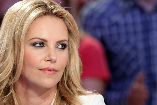 Charlize Theron was interviewed on Le Grand Journal.
