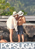 Miranda Kerr, Orlando Bloom, and baby Flynn spent some quality time in Bora Bora.