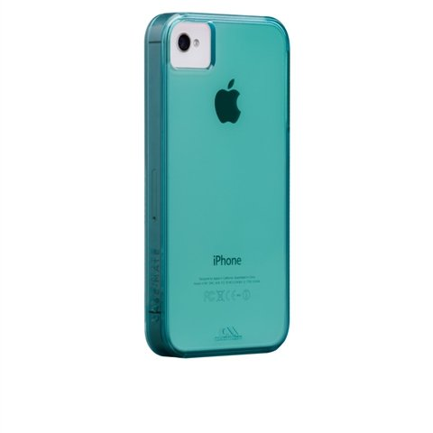 Case-Mate 100% Recycled Plastic Case for iPhone 4/4S in Turquoise Blue ($30)