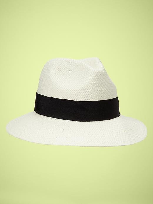A white Panama hat is a Spring staple, and we're loving this crisp, clean (and affordable) version.  Gap Panama Hat ($30)