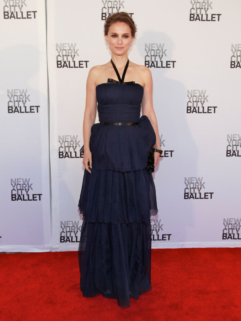 Natalie Portman wowed in Christian Dior at the New York City Ballet Spring Gala.