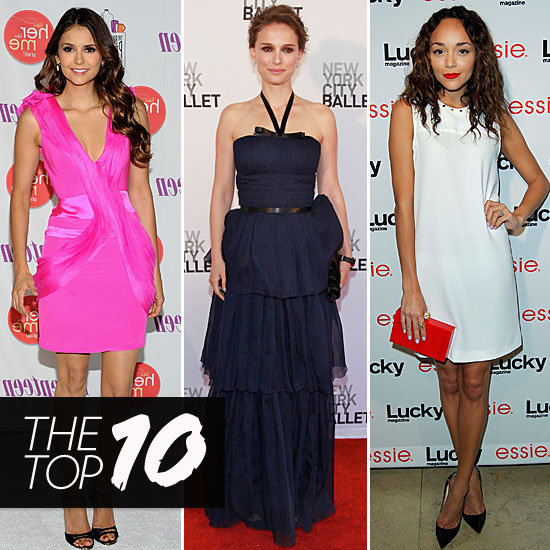 Fab's Top 10 Celebrity Looks of the Week — Nina, Natalie, Ashley, and More!