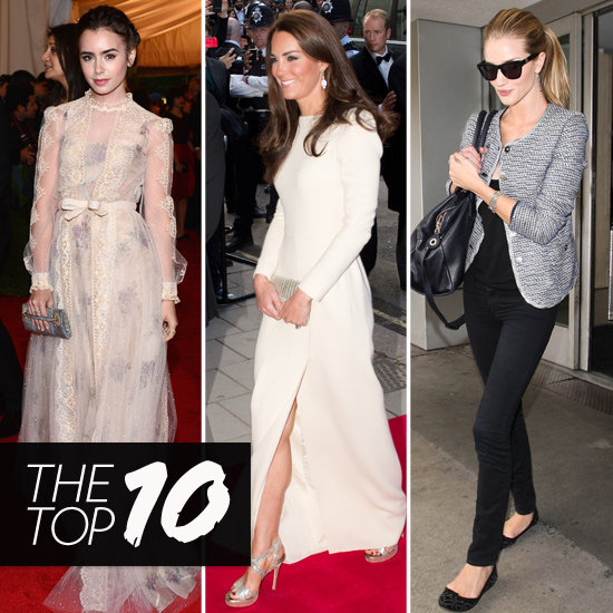 Top 10 British Celebrity Looks of the Week — Lily, Kate, Rosie and More!