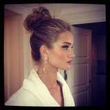 Rosie Huntington-Whiteley showed off her Met Gala do.
