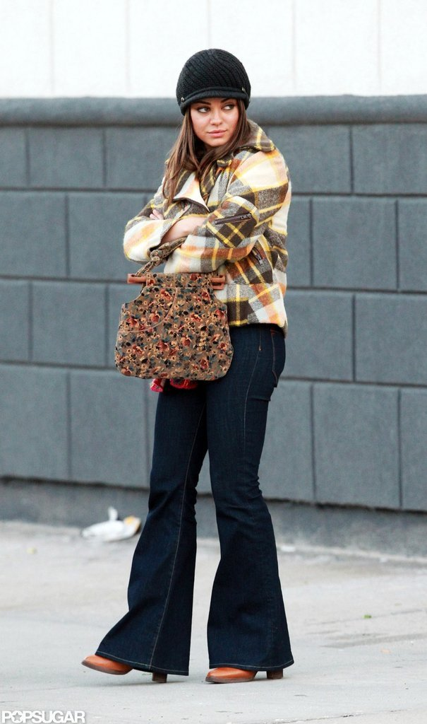 Mila Kunis was on the streets of NYC for Blood Ties.