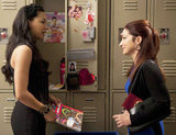 Naya Rivera and Gloria Estefan on Glee. Photo courtesy of Fox
