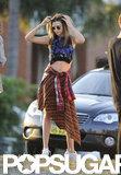 Miranda Kerr Shows Stomach During a Hot Sydney Photo Shoot