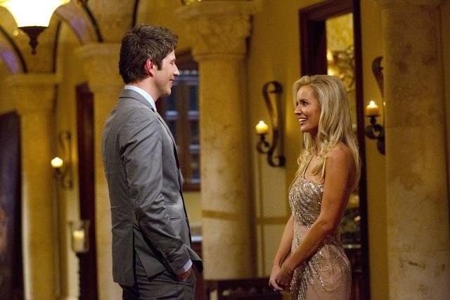 Arie and Emily Maynard on The Bachelorette.