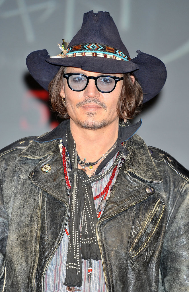 Johnny Depp promoted Dark Shadows in Tokyo.
