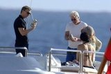 Daniel Craig and Richard Gere loaded their families onto a boat for some rest and relaxation in St. Barts in January 2009.
