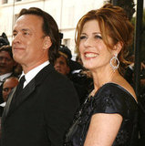 Tom Hanks and Rita Wilson made an appearance at The Da Vinci Code premiere in 2006.