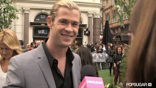 Video: New Dad Chris Hemsworth Shares His Baby Excitement at the SWATH Premiere