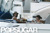 Penelope Cruz relaxed with her mother during a 2006 trip to Ibiza.