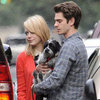 Emma Stone and Andrew Garfield Mother's Day Pictures
