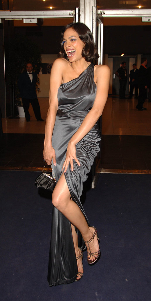 Rosario Dawson had fun with a pose for the Clerks II premiere in 2006.