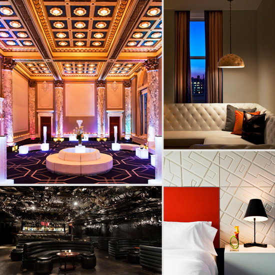 Peek Inside the W Hotel Union Square's Splashy New Redesign